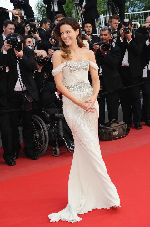 <strong>KATE BECKINSALE</strong> <BR> Wearing Gucci Première in 2010.