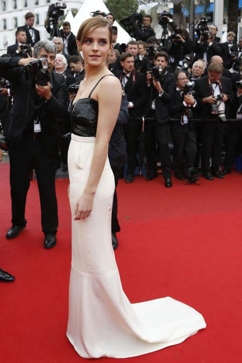 <strong>EMMA WATSON</strong> <BR> Wearing Chanel in 2013.