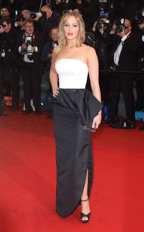 <strong>JENNIFER LAWRENCE</strong> <BR> Wearing Dior in 2013.