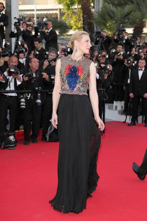 <strong>CATE BLANCHETT</strong> <BR> Wearing Givenchy in 2014.