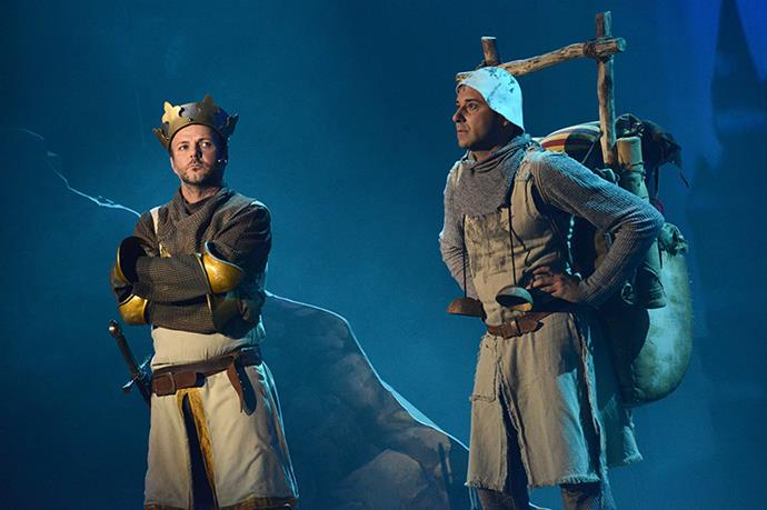 """<strong><em>Monty Python and the Holy Grail</em></strong> <br>""""Bring out yer dead, bring out yer dead!"""" This classic Monty Python flick successfully became a musical named <em>Spamalot</em> in 2004. <br><br>Ever since, British comedy nerds and theatre lovers alike have been flocking to the production."""
