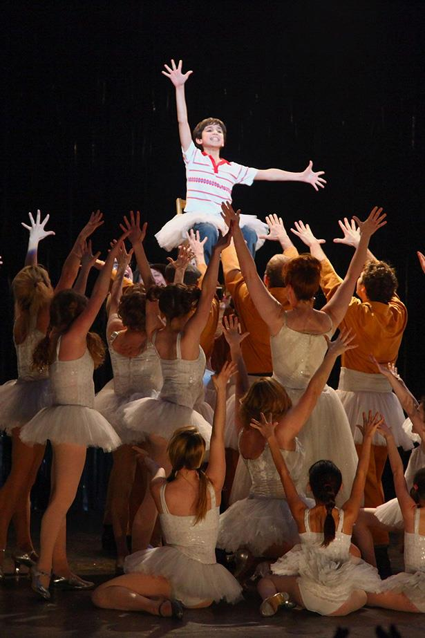 <strong><em>Billy Elliot</em></strong> <br>When it was announced this modern classic was going to become a musical we knew it'd be a hit. <br><br>With music by Elton John and lyrics by the writer of the film's screenplay, as well as stellar performances from the young cast, the Broadway version was a hit and has been playing for over a decade on West End.