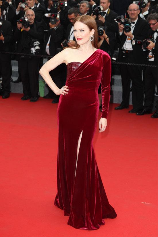 <strong>Julianne Moore</strong> wearing Givenchy Couture
