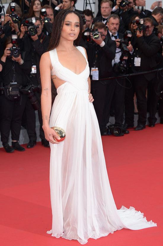 <strong>Zoe Kravitz</strong> wearing Valentino Couture