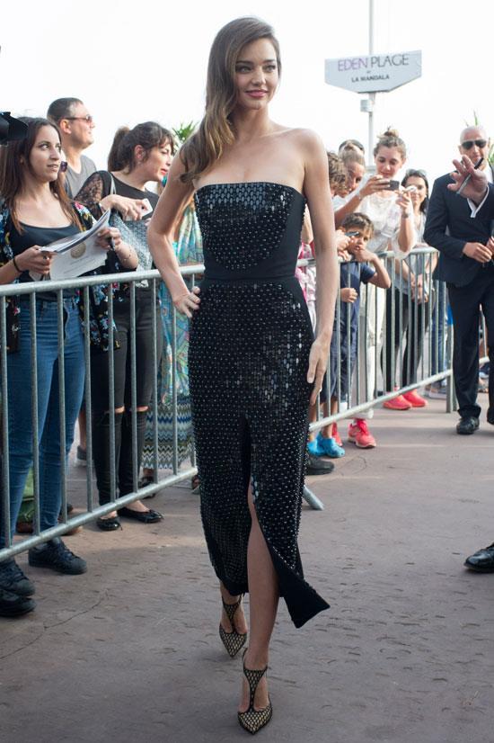 <strong>Miranda Kerr</strong> wearing David Koma