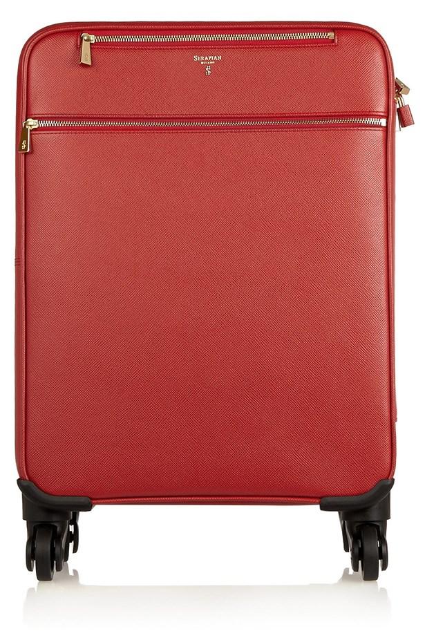 "<a href=""http://www.net-a-porter.com/au/en/product/490618"">Luggage</a>, $2,096, Serapian, Net-A-Porter-com"