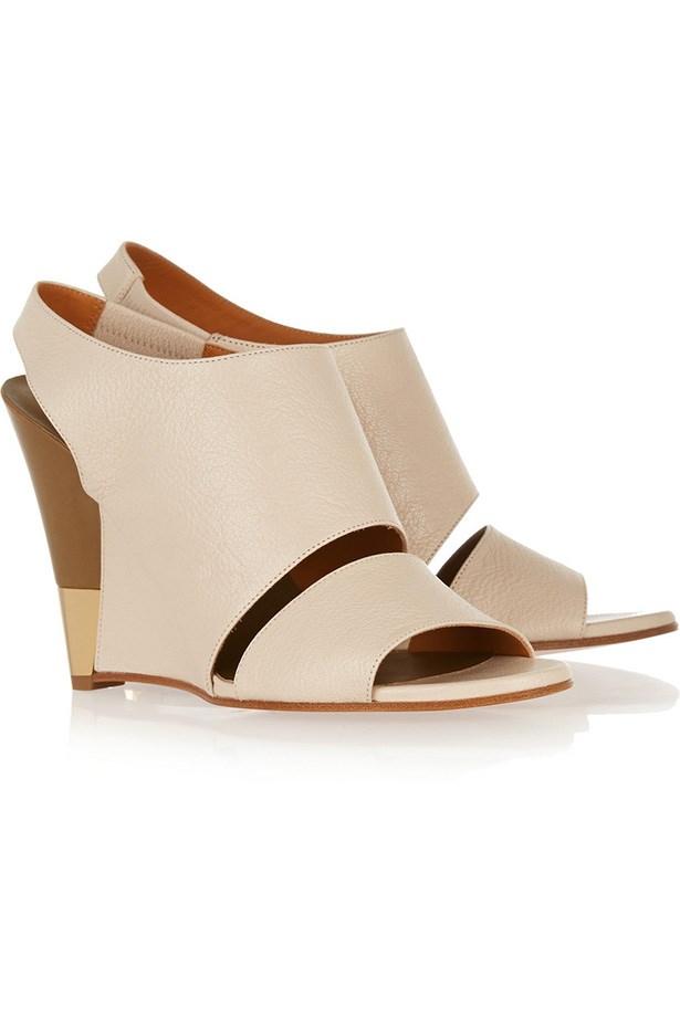 """<a href=""""http://www.net-a-porter.com/product/504404"""">Sandals</a>, $806, Chloé, Net-A-Porter-com"""