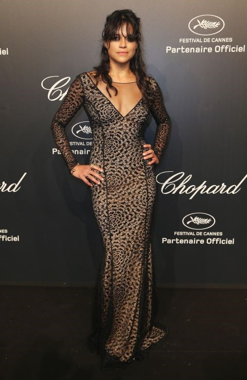 <strong>MICHELLE RODRIGUEZ</strong> <BR> In Blumarine