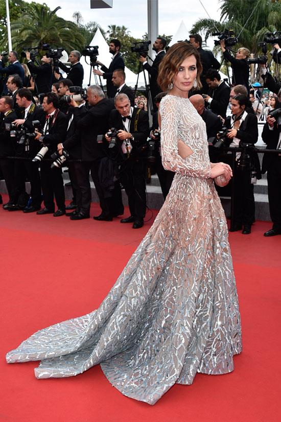 <strong>Nievez Alvares</strong> wearing Elie Saab Couture