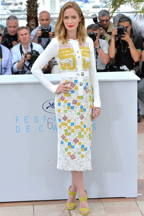 <strong>Emily Blunt</strong> wearing Peter Pilotto
