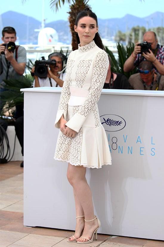 <strong>Rooney Mara</strong> wearing Alexander McQueen