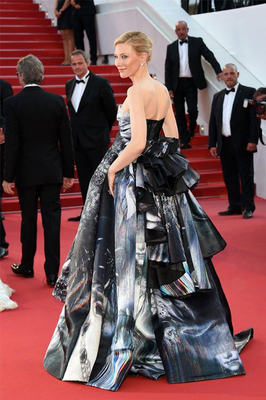 <strong>Cate Blanchett</strong> wearing Giles