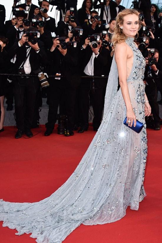<strong>Diane Kruger</strong> wearing Prada