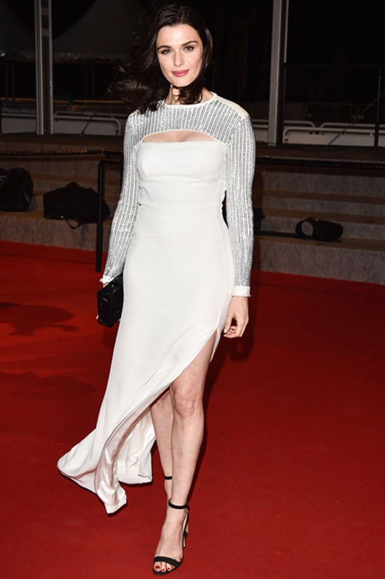 <strong>Rachel Weisz</strong> wearing Louis Vuitton