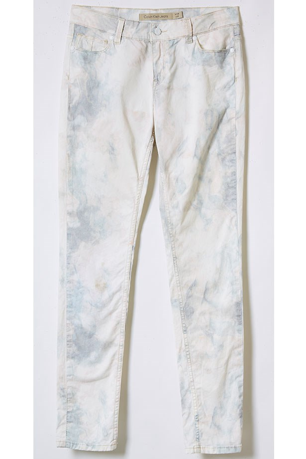 Jeans, $220, Calvin Klein Jeans, 1300 131 701.