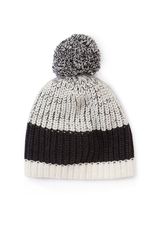 "Beanie, $49.95, Country Road,<a href=""http://www.countryroad.com.au/shop/woman/accessories/60180615/Colour-Block-Beanie.html""> countryroad.com.au</a>"
