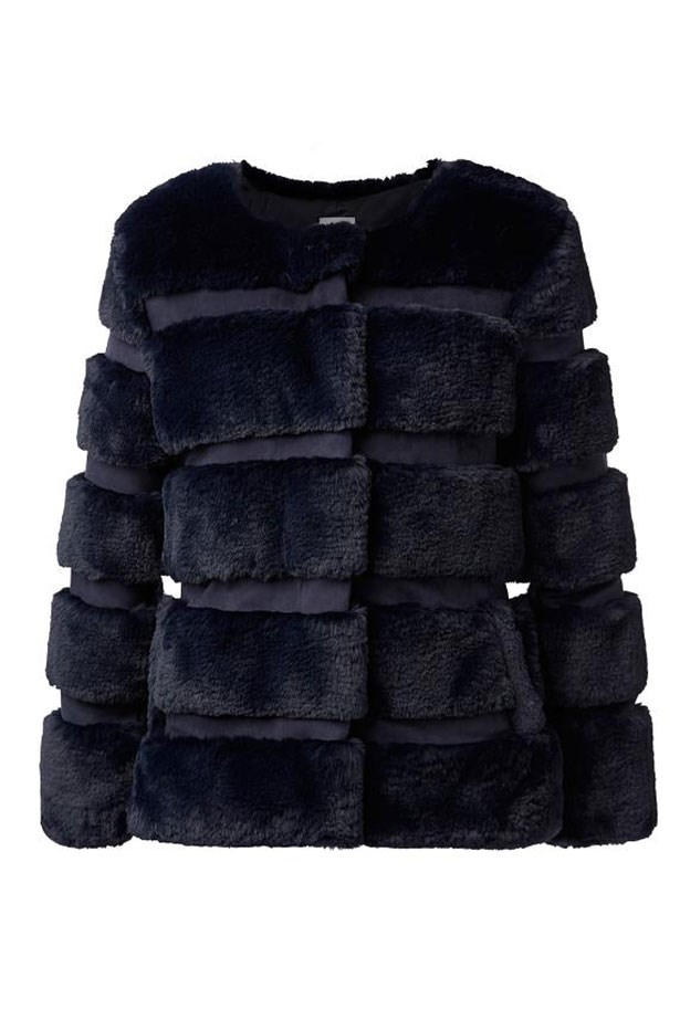"Coat, $249.95, Seed, <a href=""http://www.seedheritage.com/new-arrivals/fur-panel-coat/w1/i12813378_1001285/"">seedheritage.com</a>"