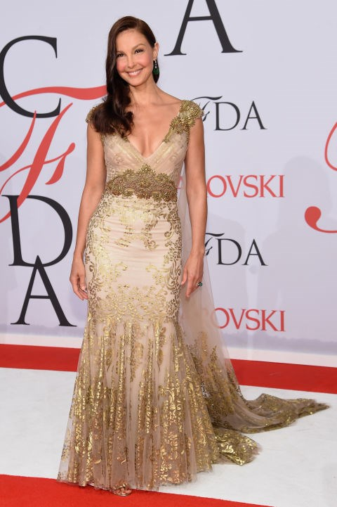 <strong>ASHLEY JUDD</strong> <BR> in Badgley Mischka