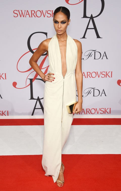 <strong>JOAN SMALLS</strong> <BR> in Calvin Klein