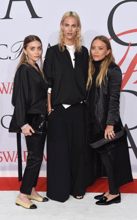 <strong>ASHLEY OLSEN, AYMELINE VALADE AND MARY-KATE OLSEN</strong> <BR> all in The Row