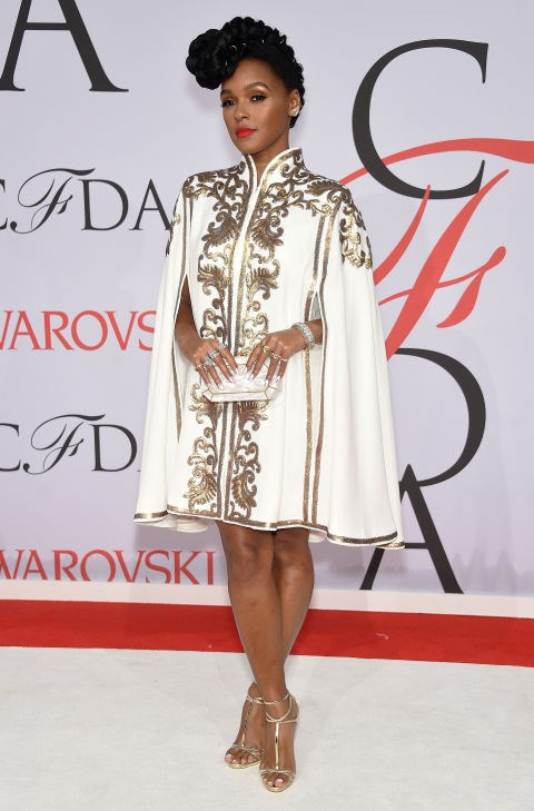 <strong>JANELLE MONAE</strong> <BR> in Tadashi Shoji