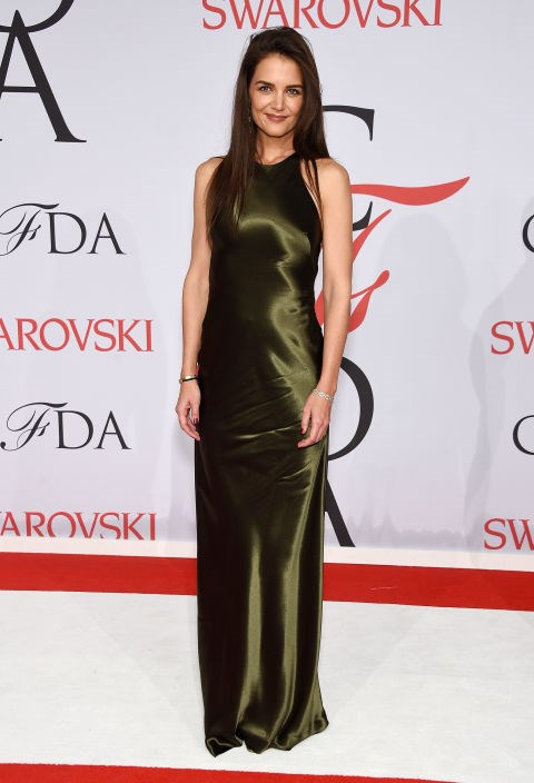<strong>KATIE HOLMES</strong> <BR> in Ralph Lauren Collection