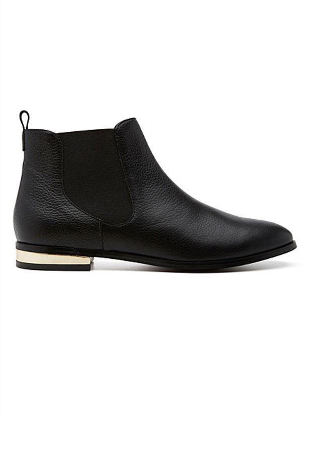 "Boots, $199.95, Witchery, <a href=""http://www.witchery.com.au/shop/woman/shoes/boots/rosalind-boot-60181410"">witchery.com.au</a>"