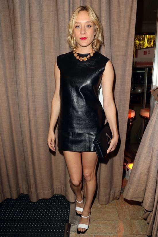 <strong>Chloë Sevigny</strong> wearing Kenzo at the Sidaction Gala Dinner, January 2014