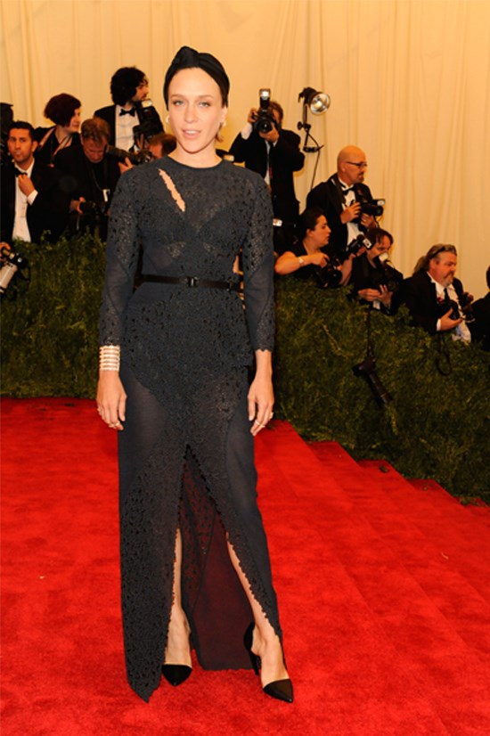 <strong>Chloë Sevigny</strong> wearing Proenza Schouler at the 2013 Met Gala