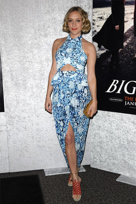 <strong>Chloë Sevigny</strong> wearing Rodarte at the premiere of HBO's 'Big Love', January 2011