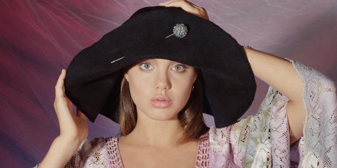 19 rarely seen photos of Angelina Jolie
