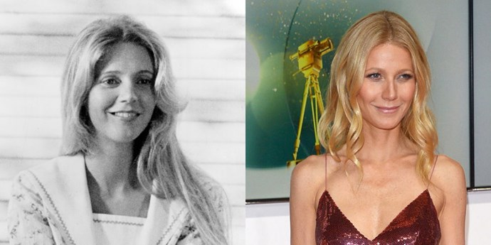 **Blythe Danner and Gwyneth Paltrow**