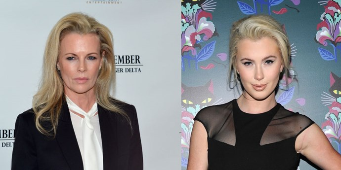 **Kim Basinger and Ireland Baldwin**