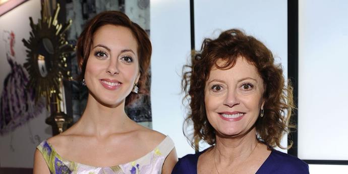 **Eva Amurri and Susan Sarandon**