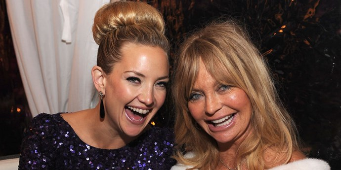 **Kate Hudon and Goldie Hawn**