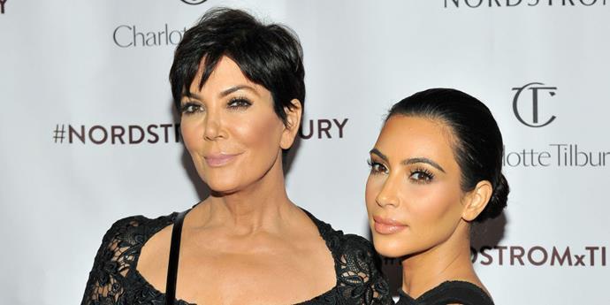 **Kris Jenner and Kim Kardashian**