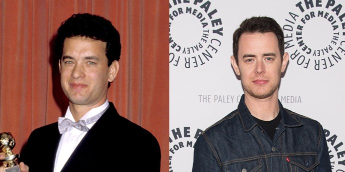 **Tom Hanks and Colin Hanks**