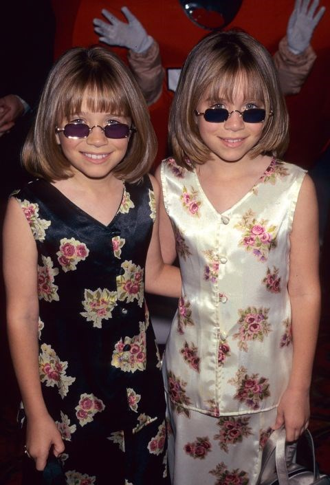 Mary Kate and Ashley Olsen matching outfits