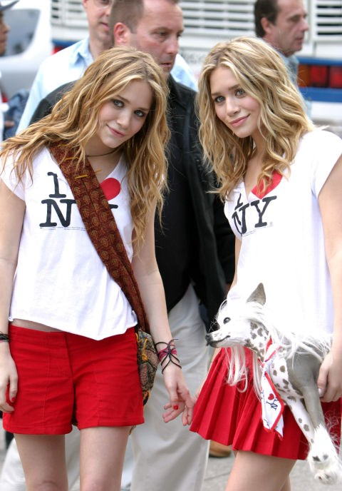 OCTOBER 9, 2003 On location filming New York Minute.