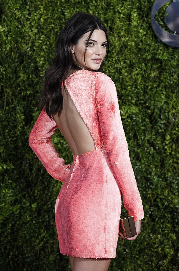 The back of Kendal Jenner's dress for good measure.
