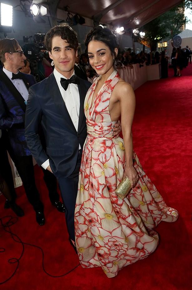 Darren Criss and Vanessa Hudgens.