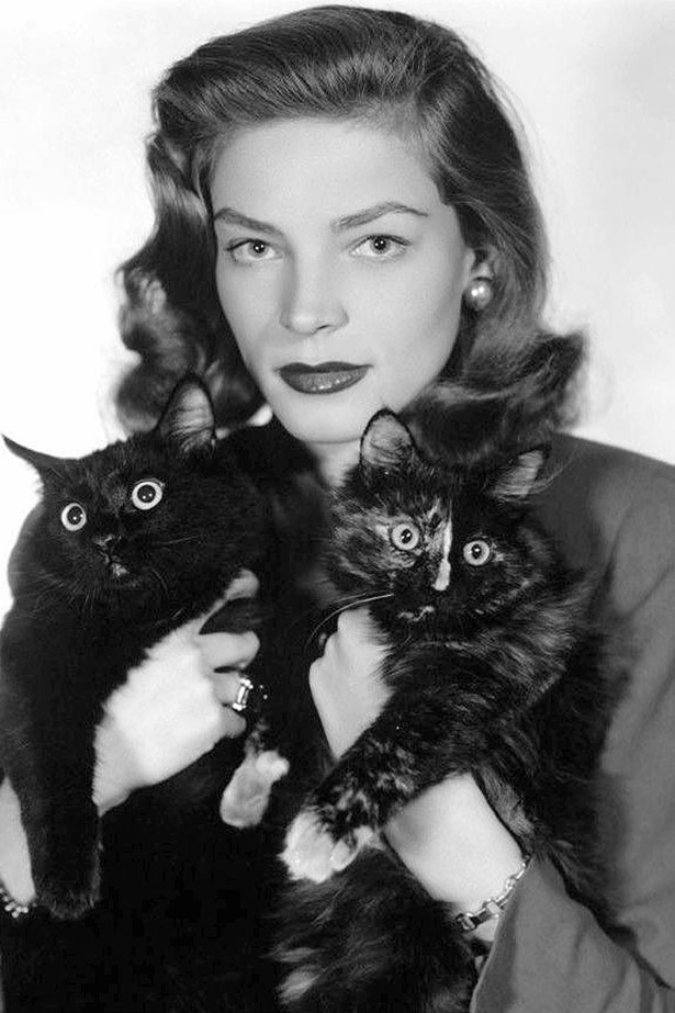Lauren Bacall. Boss in every way.