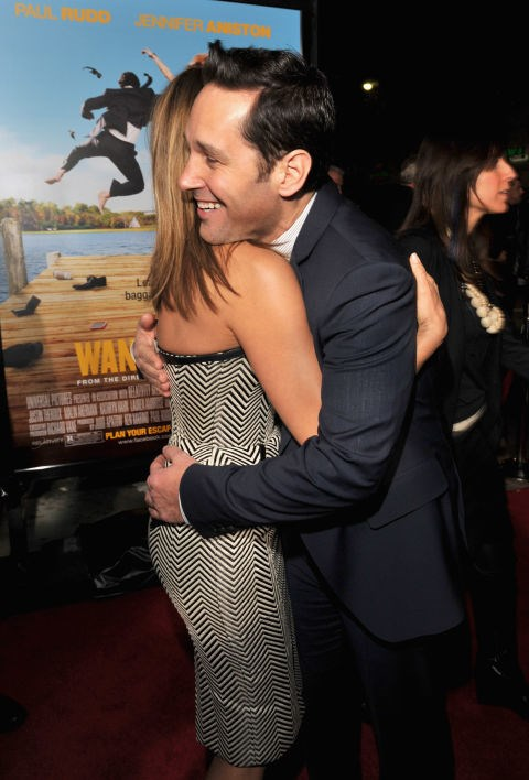 <p><strong>Jennifer Aniston and Paul Rudd</strong> <p>15+ years friends.
