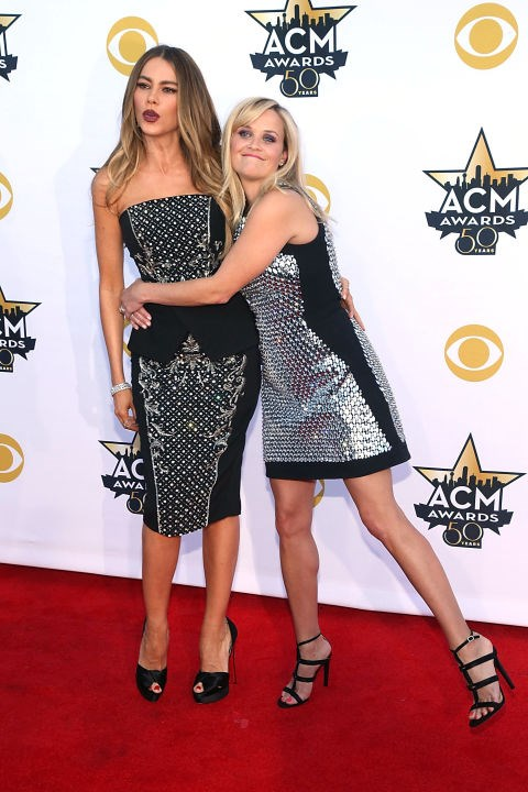 <p><strong>Sofia Vergara and Reece Witherspoon</strong> <p>Where-have-you-been-all-my-life friends.
