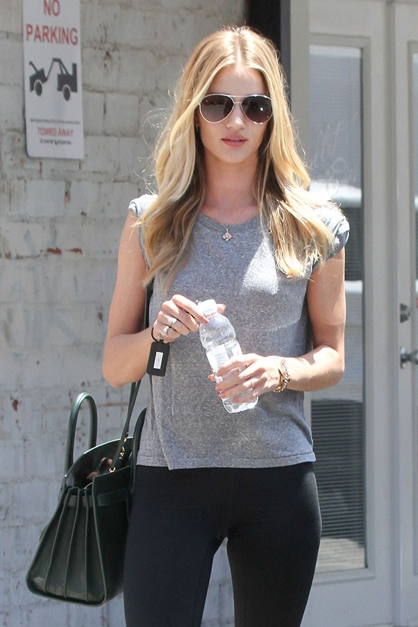 Celebrities who sweat in style