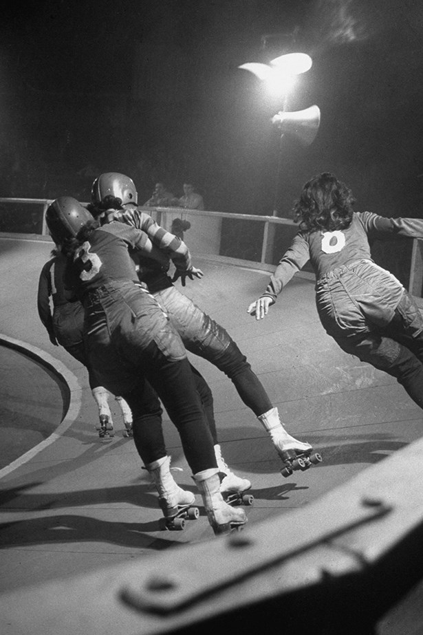 <strong>1940:</strong> Roller derby<br><br> Image: Getty