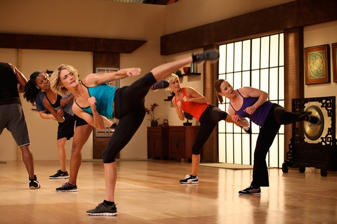 <strong>1999:</strong> Tae Bo<br><br> Image: Team Tae Bo Franklin