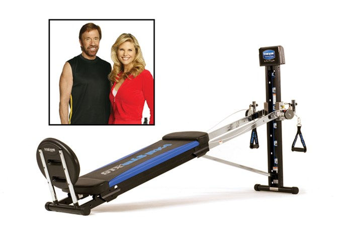 <strong>1998:</strong> The Chuck Norris endorsed Total Gym<br><br> Image: Total Gym