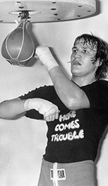 <strong>1974:</strong> Rocky makes the speed bag cool