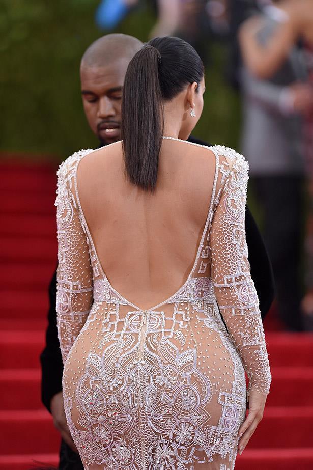 Kim Kardashian at the Met Gala.